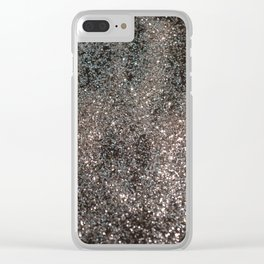 Silver Glitter #1 #decor #art #society6 Clear iPhone Case