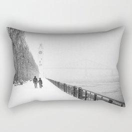 Hold my hand Rectangular Pillow