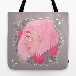 Pink Hair Don't Care Tote Bag