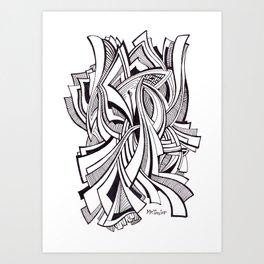 Tethers Art Print