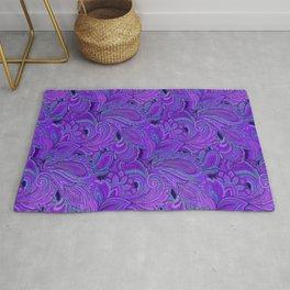 paisley paisley purple Rug