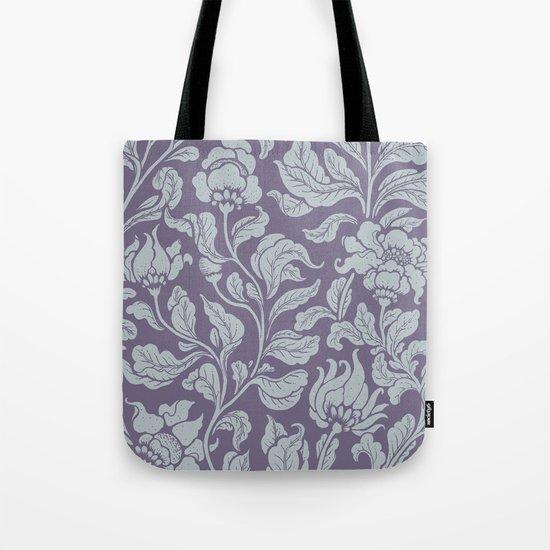 neo ethnic lavender Tote Bag