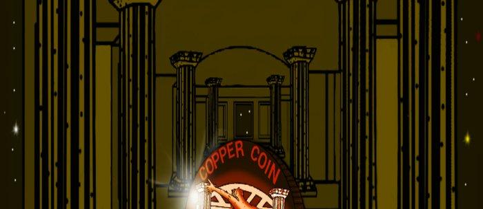 Necropolis Coin Copper at Twilight 5 Coffee Mug