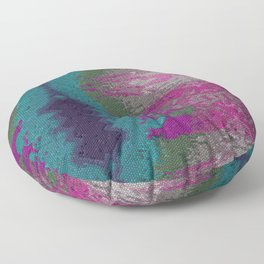Mosaique by little stones ,,, Floor Pillow