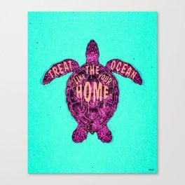 ocean omega (variant) Canvas Print