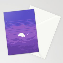 Moonburst V2 Stationery Cards