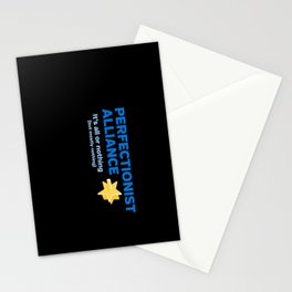 Perfectionist Alliance Stationery Cards