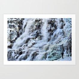 Ithac Falls Art Print
