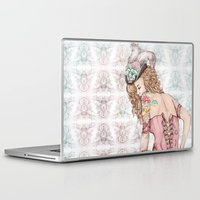 marie antoinette Laptop & iPad Skins featuring Marie Antoinette by Frances Louw