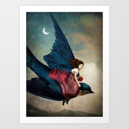 Fairytale Night Art Print