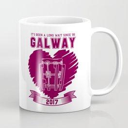 All Ireland Senior Hurling Champions: Galway (White/Maroon) Coffee Mug