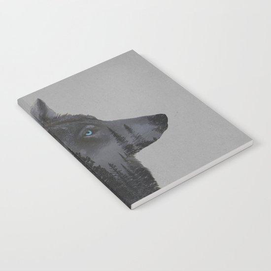 Winter Wolf Notebook