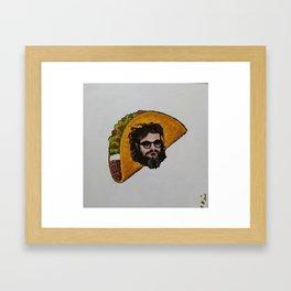 Joaquin Taco Framed Art Print