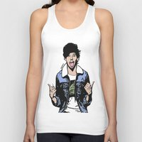 louis tomlinson Tank Tops featuring Louis Tomlinson by 90's Class