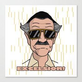 Excelsior - Stan Lee Canvas Print