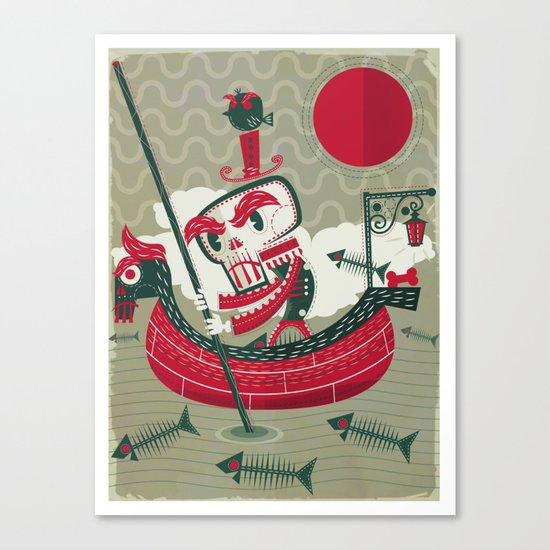 Calaverita Canvas Print