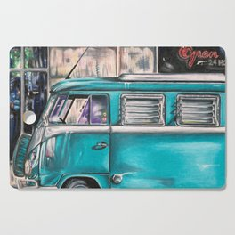 Hippie Van Cutting Board
