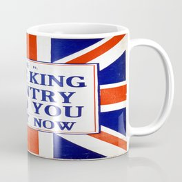 Vintage poster - Your King and Country Need You Coffee Mug