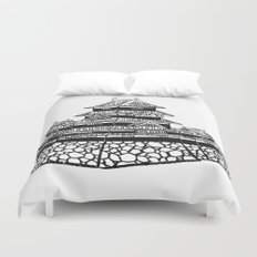 The Black Castle  Duvet Cover