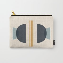 Sapphire Abstract Half Moon 2 Carry-All Pouch