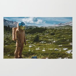 The Spaceman (Color) Rug