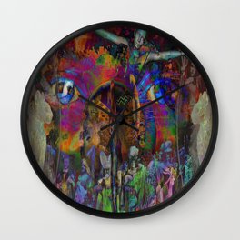 Circus of the Mind Wall Clock