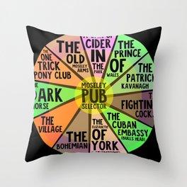 Moseley Pub Selector Throw Pillow