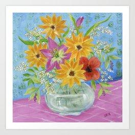 Gypsy Garden Art Print