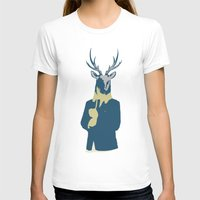 suits T-shirts featuring Suits me by DisdainGlittersGold