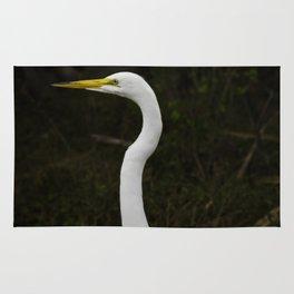 Great Egret Rug