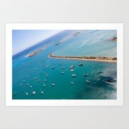 Keehi Lagoon, Hawaii Art Print