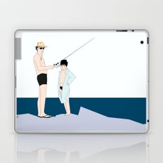 fishing time Laptop & iPad Skin