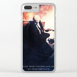 Agent 47 the Hitman Clear iPhone Case
