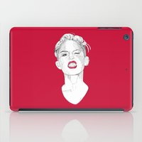 miley iPad Cases featuring Miley by Fernando Monroy Robles