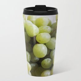 Green Grapes Metal Travel Mug