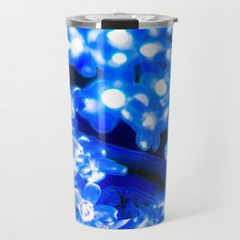 Flowery Lights Travel Mug