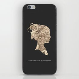 And To The Ends Of The Earth iPhone Skin