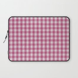 Gingham lovers (bubble gum) Laptop Sleeve