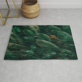 Coconut Palm Leaves Rug