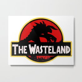 The Wasteland Metal Print