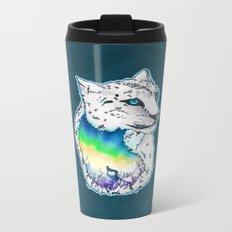 Leopard Borealis Metal Travel Mug