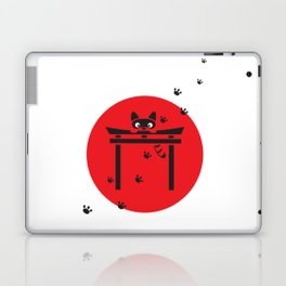 Curious Tanuki Laptop & iPad Skin