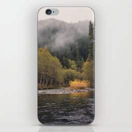Salmon River I iPhone Skin