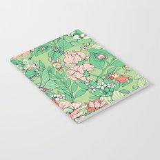 Garden party - sage tea version Notebook
