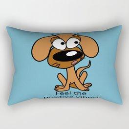 Positive vibes! Rectangular Pillow