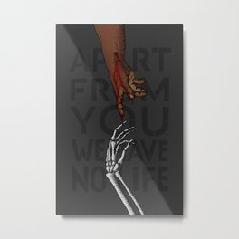 re:Creation of Adam Metal Print