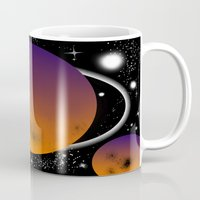 planets Mugs featuring planets by lescapricesdefilles