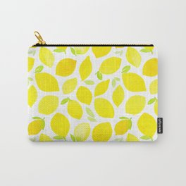 Beautiful Lemon Pattern Carry-All Pouch