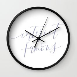 Internet Famous Wall Clock