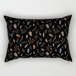 """Dried flowers"" Rectangular Pillow"